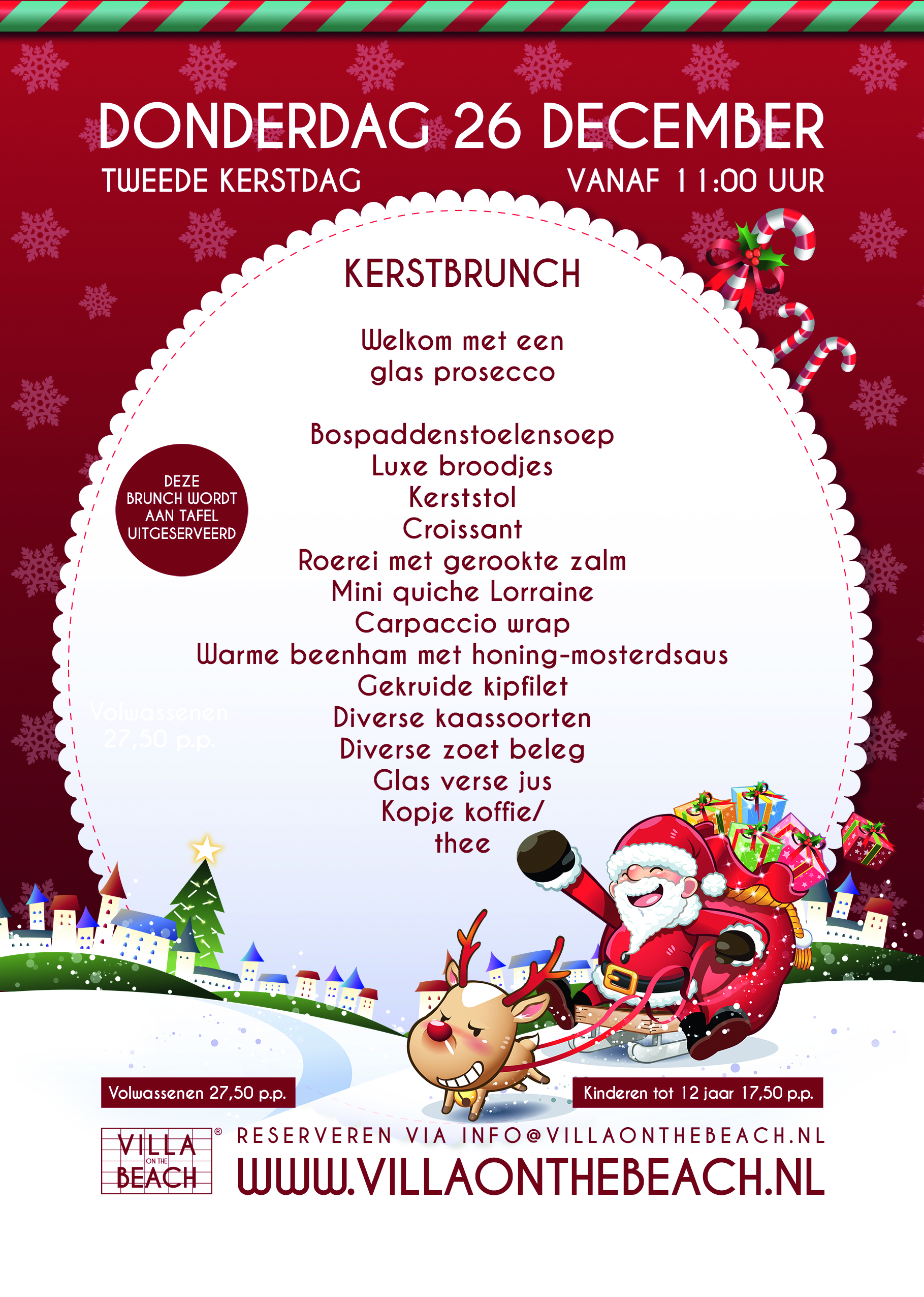 Kerstbrunch – 26 december